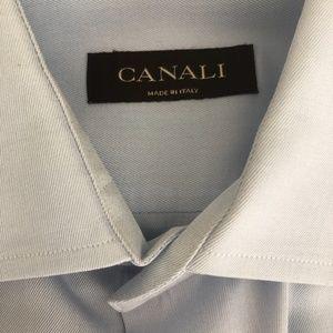 Canali Mens Dress Shirt
